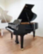 Черный кабинетный рояль высокого класса Shigeru Kawai (фото)