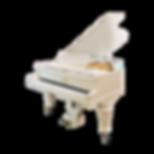 Белый рояль немецкий Duysen Berlin Дюсен Берлин антикварный (фото)