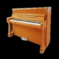 Новое немецкое пианино August Förster особой отделки породами дерева (фото)