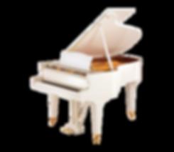 Элитный белый германский рояль Штайнгребер (фото)