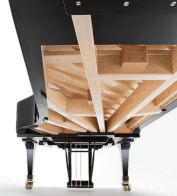 Концертный рояль Fazioli 308 (фото снизу)