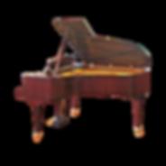 Коричневый рояль C. Bechstein особой отделки класса премиум (фото)