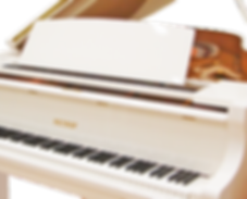 Белый кабинетный рояль Petrof Петроф фото