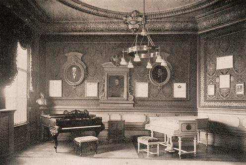 Зал компании Бехштейн в Берлине, 1900-е гг. (фото)