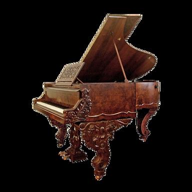 Рояль барокко Ренессанс корень ореха (фото)