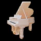 Steinway sons, белый резной рояль исторического дизайна (фото)