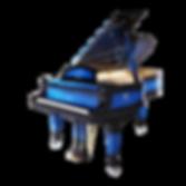 Эксклюзивный рояль Алмазный блюз фото