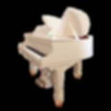 Белый мини рояль Mendelssohn Butterfly (фото)