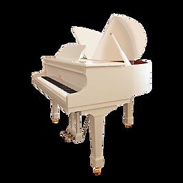 Мини рояль для ребёнка Mendelssohn «Бабочка» белого цвета (фото)