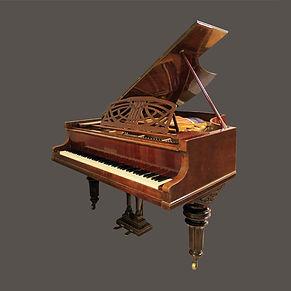Продаётся немецкий рояль Рёниш в отделке орех (Германия), фото