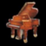 Seiler Florenz немецкий рояль коричневой отделки с инкрустациями Зайлер Флоренция (фото)