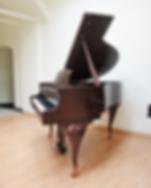 Коричневый мини рояль чиппендейл S. Ritter фото