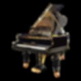 Классический черный рояль C. Bechstein бехштейновского дизайна (фото)