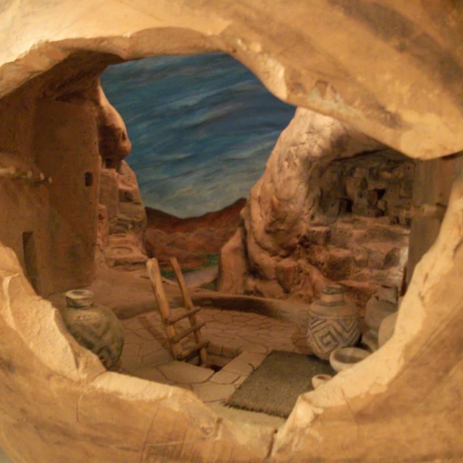 Mesa Verde , close up