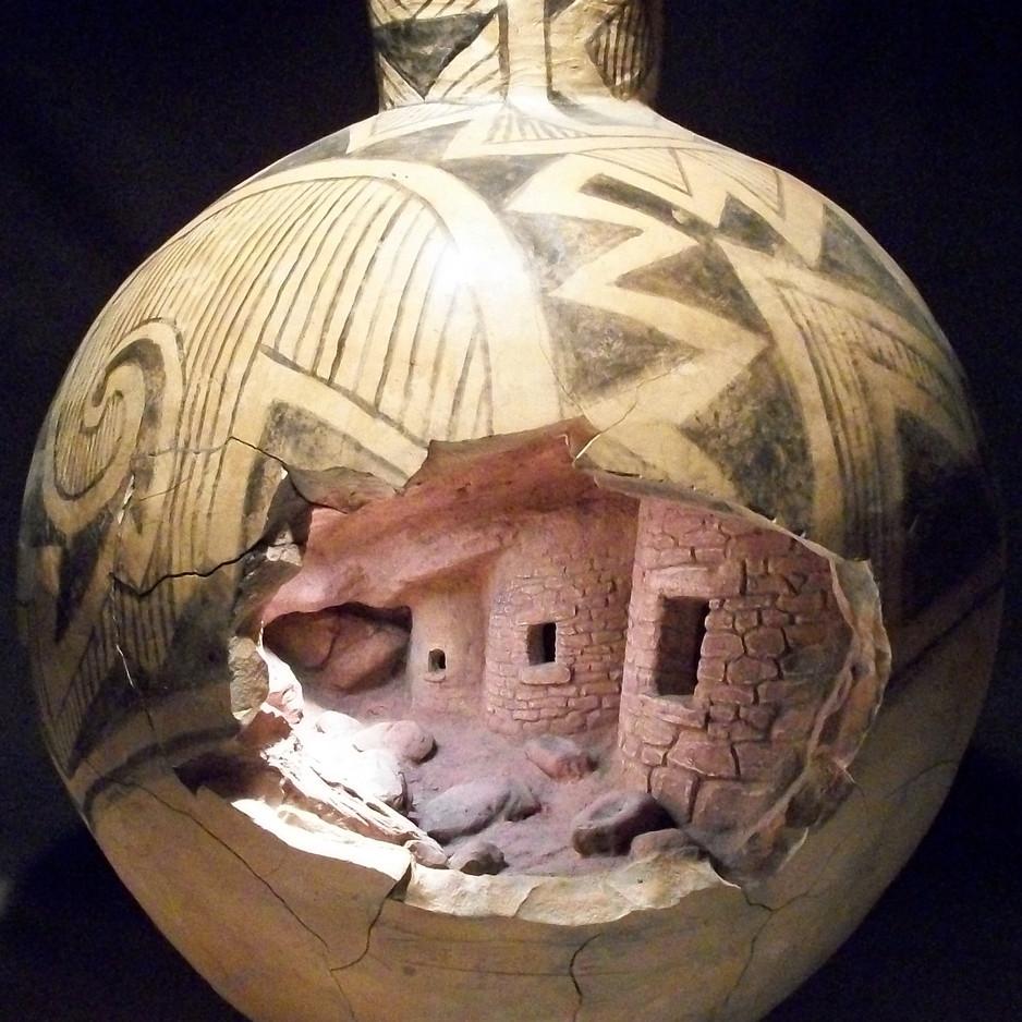 Anasazi Granary, UTAH