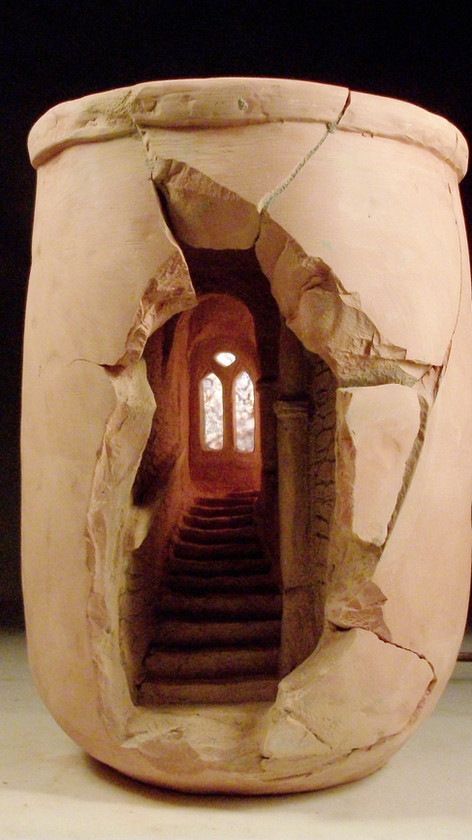 Medieval stairs, France