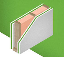 how green glue for walls works