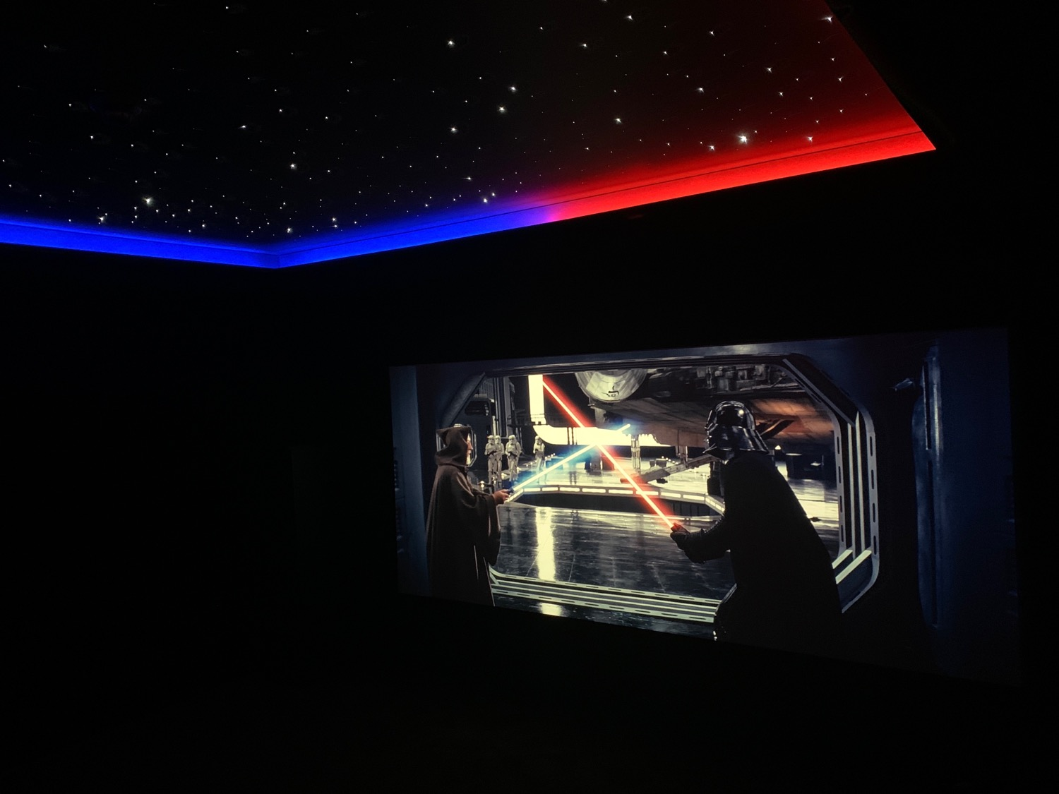 Star Wars Home Cinema Showroom