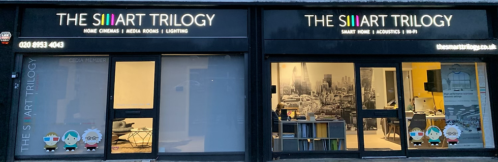 The Smart trilogy Showrooms