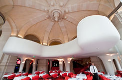 Acoustic ceiling in restaurants