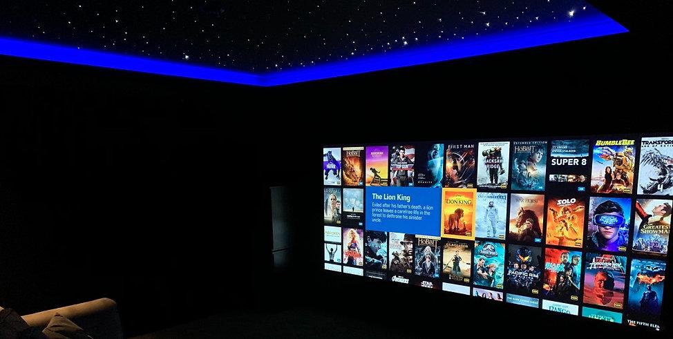 Control 4 Cinema Showroom