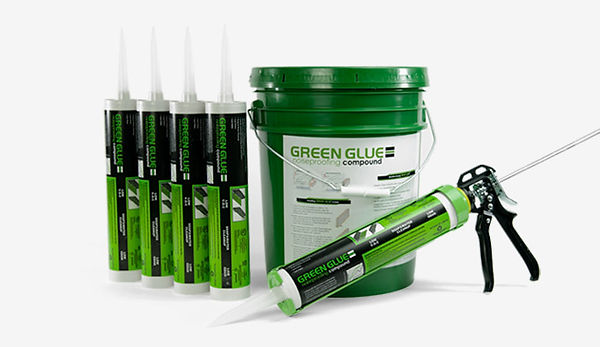 green glue soundproof compound