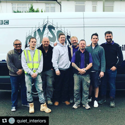 Our team with DIY SOS