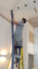 soundproof spray installation