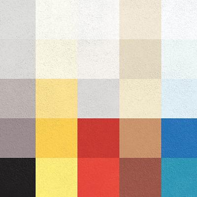 Acoustic Plaster Colours
