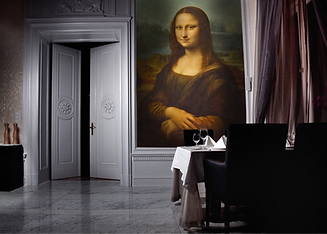 Artolis Mona Lisa Fabric wall