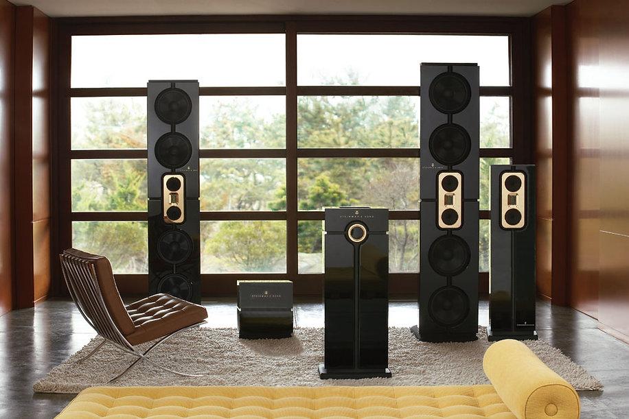 steinway lyngdorf speaker installation UK