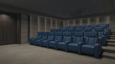 Home Cinema Seating Quiet Interiors