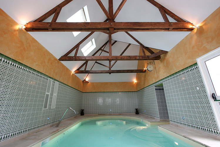 Acoustic ceilings in Swimming pool
