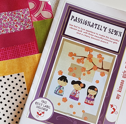 Kimono Pattern & Fabric Pack