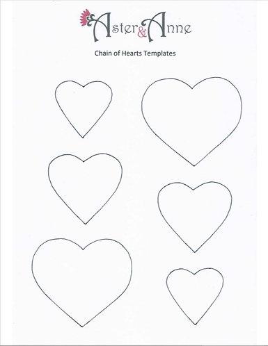 Stencil - Chain Of Hearts