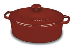 Cuisinart 5.5 Qt Enameled Cast Iron