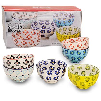 Global Bowl, set of six