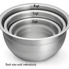 Stainless Mixing Bowls, set 4