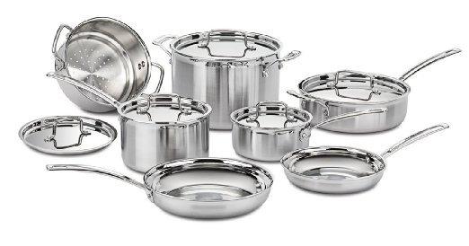 Cuisinart MultiClad Pro Cookware, 12 pc set