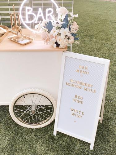 Small Runaway Tipsy Bar Cart