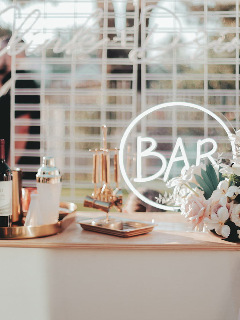 Small Runaway Tipsy Bar Cart