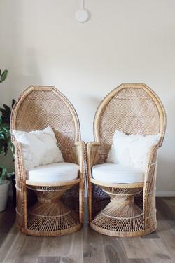 luna rattan chair set
