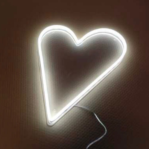 Large Neon Heart Sign