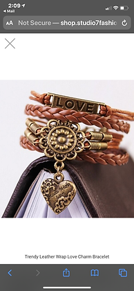 Love Hearts Leatherette