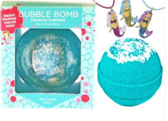 Mermaid Surprise Bubble Bath Bomb