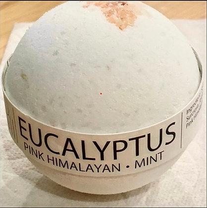 Eucalyptus Mint & Himalayan Salt Bath Bomb