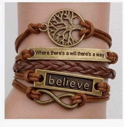 Believe Tree of Life Bracelet