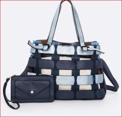 2 Toned Braided Iconic Bag