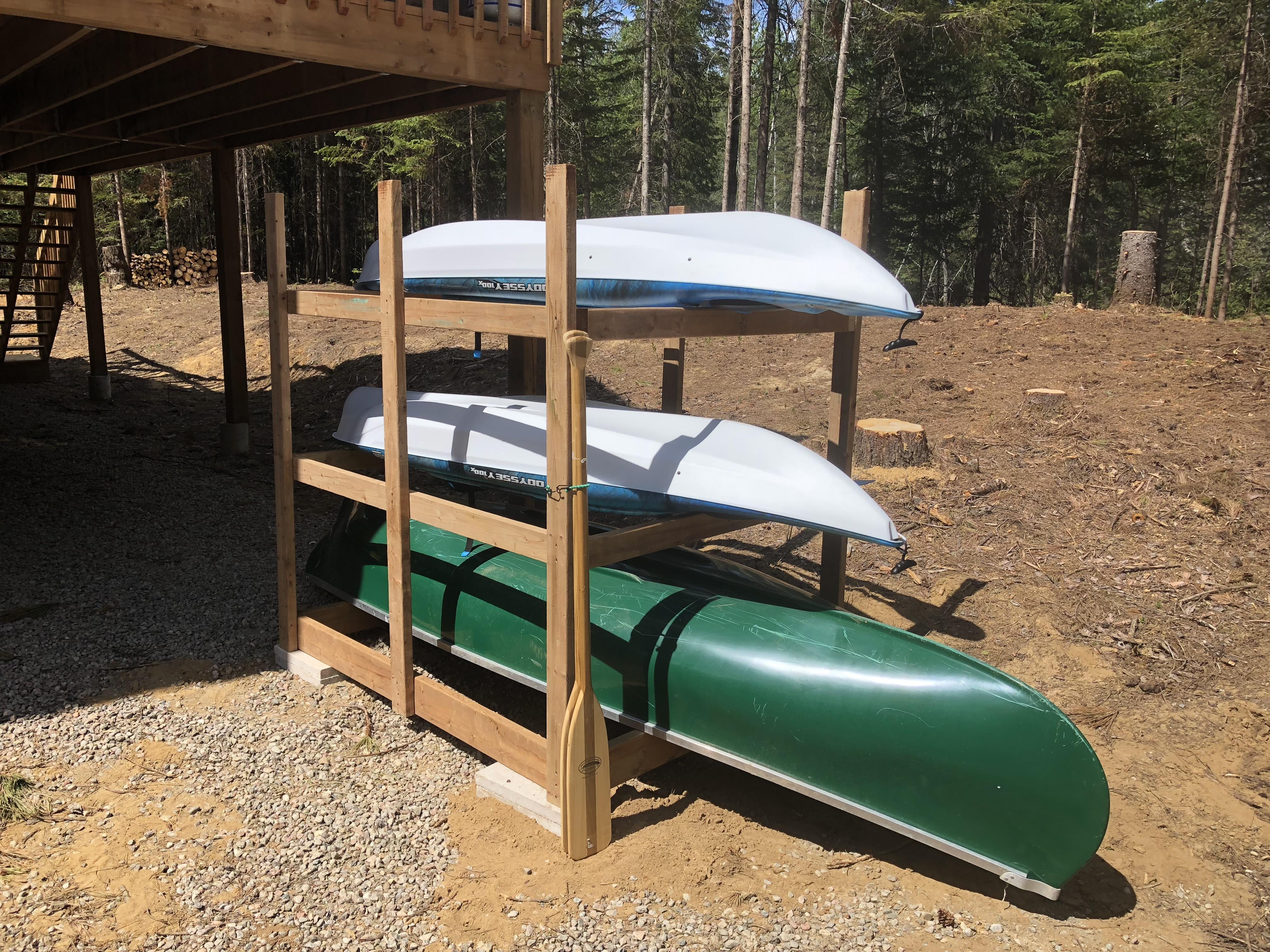 canot et kayaks