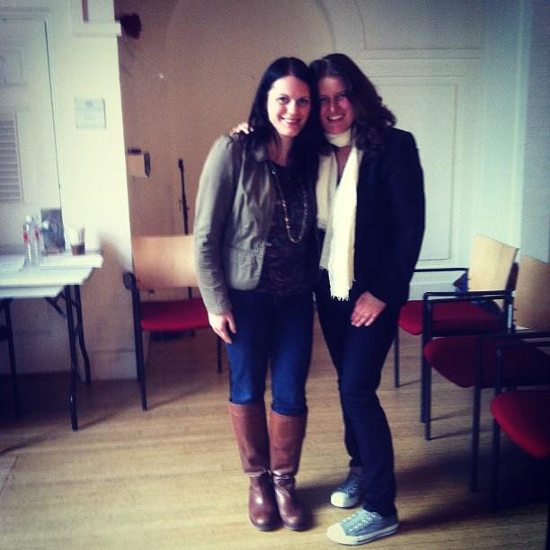 me and Paula, circa 2011
